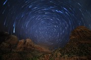 Zion Valley Startrails