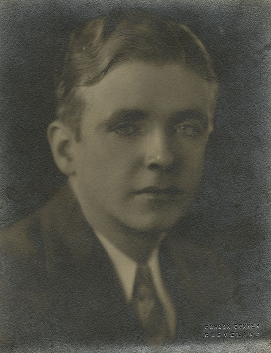 Seventeen year-old Bunny Berigan as he began his career as a full-time professional musician, Madison, WI; fall, 1925.