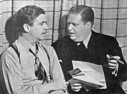 Berigan with his first personal manager, Arthur Michaud, fall 1937.