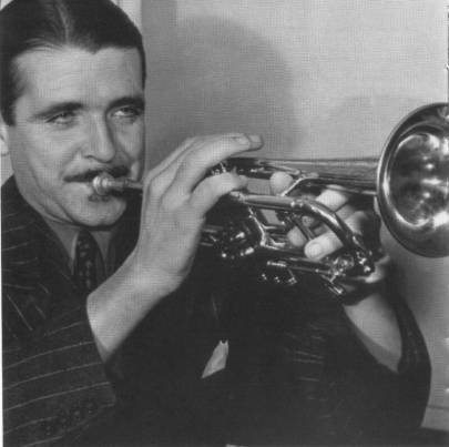 Berigan in early 1942. Although Bunny was dying from cirrhosis, he continued performing on the road before large and appreciative audiences until three days before his death on June 2.