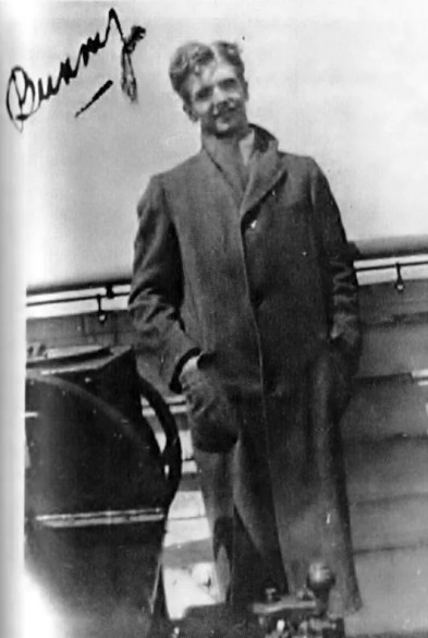 Berigan on board the S.S. Majestic going to England and the Continent with the Hal Kemp band; May 15-21, 1930.