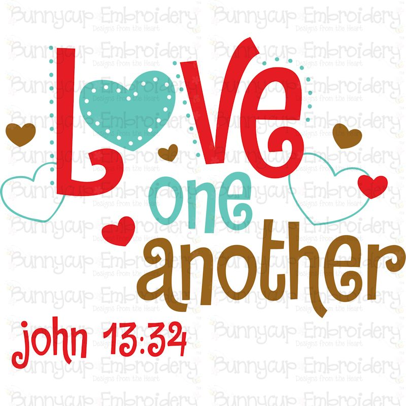 Download Love One Another SVG - Bunnycup SVG