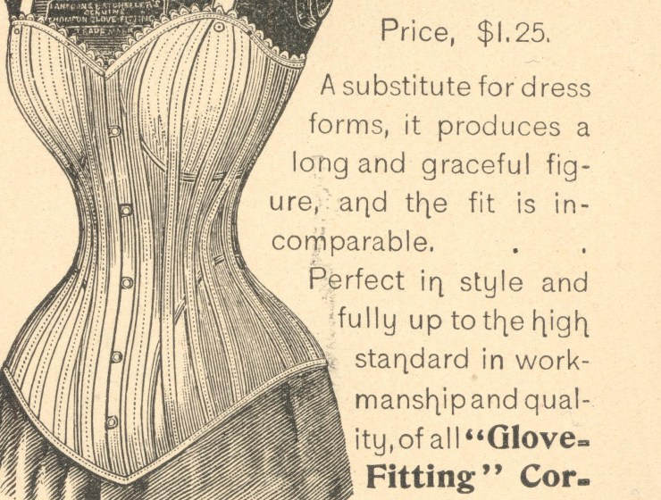 Thomson glove-fitting corset