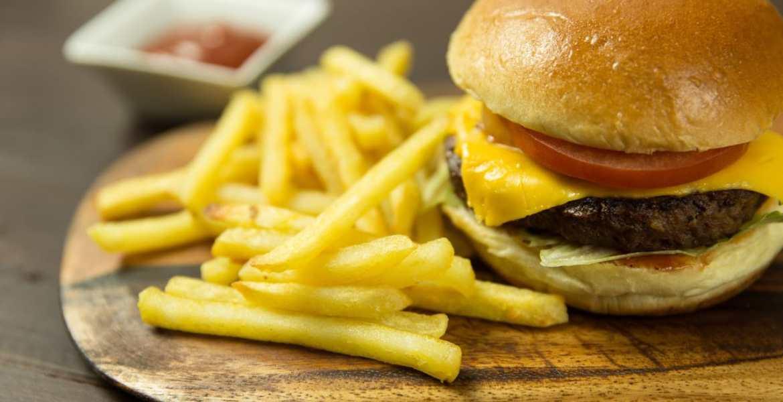 burger meat bleed scream