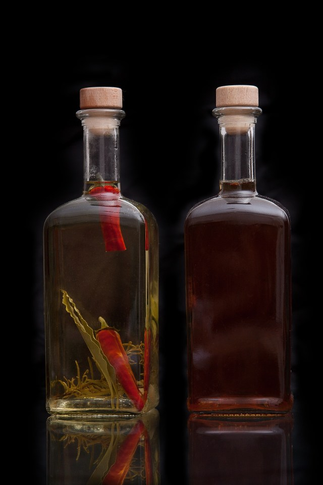 Infusing Vinegar