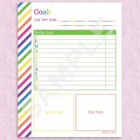 New! Fitness Planner in my Etsy Shop PlanEverything