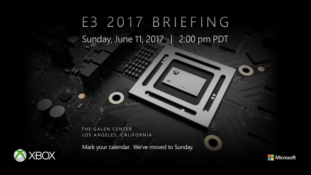 Microsoft Xbox E3 2017