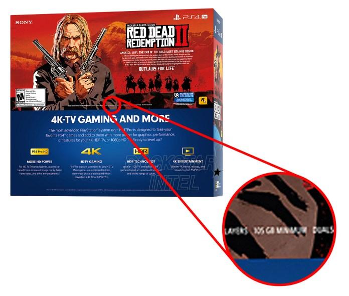 PS4 Pro Box