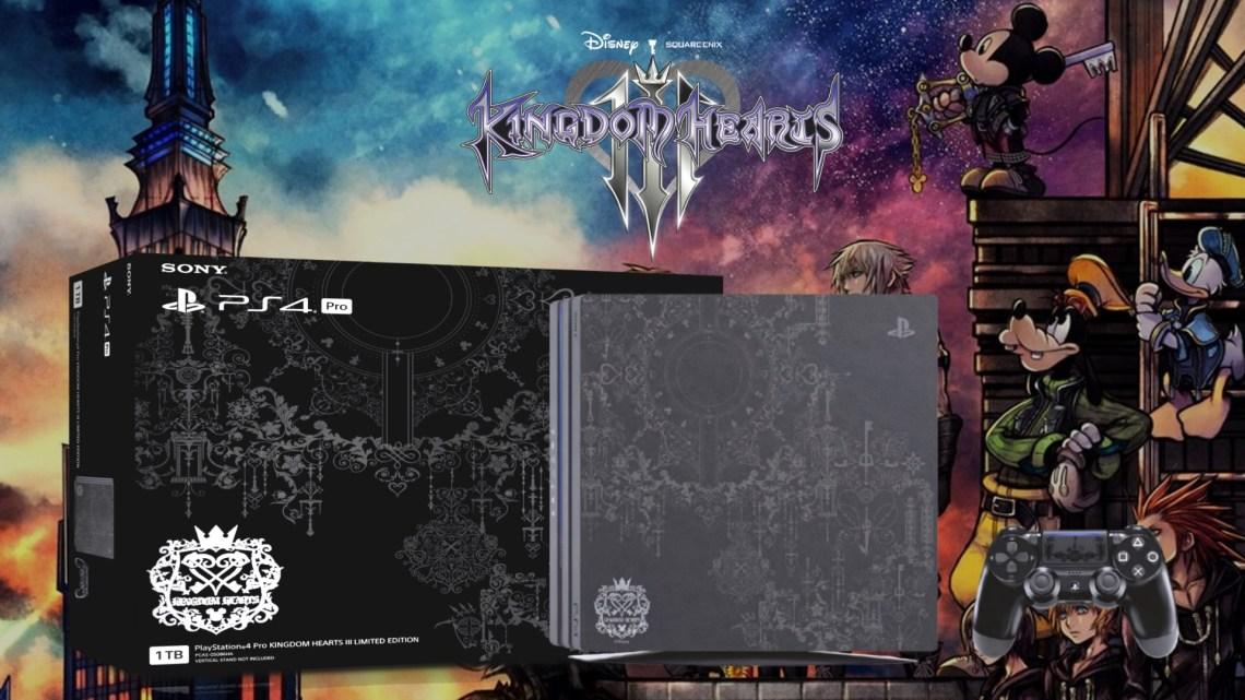 playstation 4 pro kingdom hearts iii limited edition