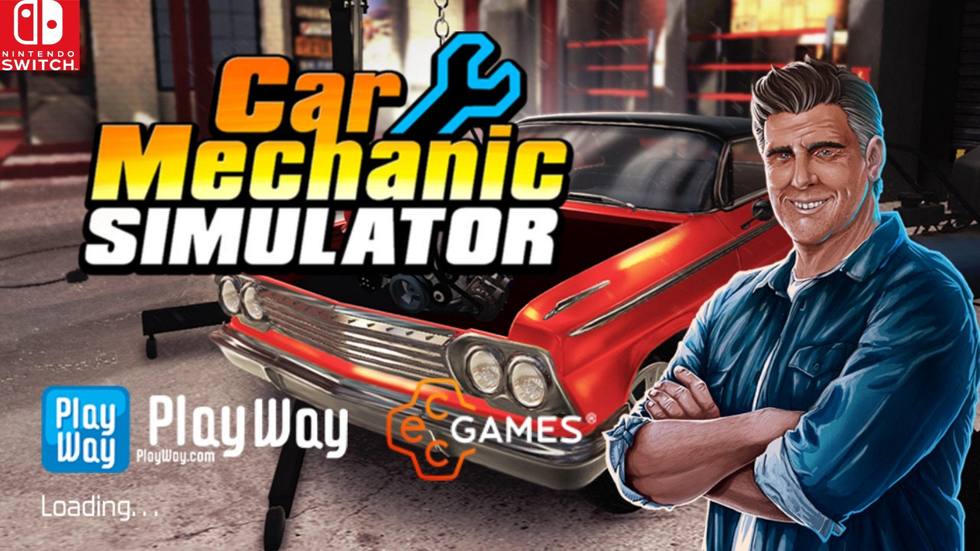 Car Mechanic Simulator makes its debut on Nintendo Switch