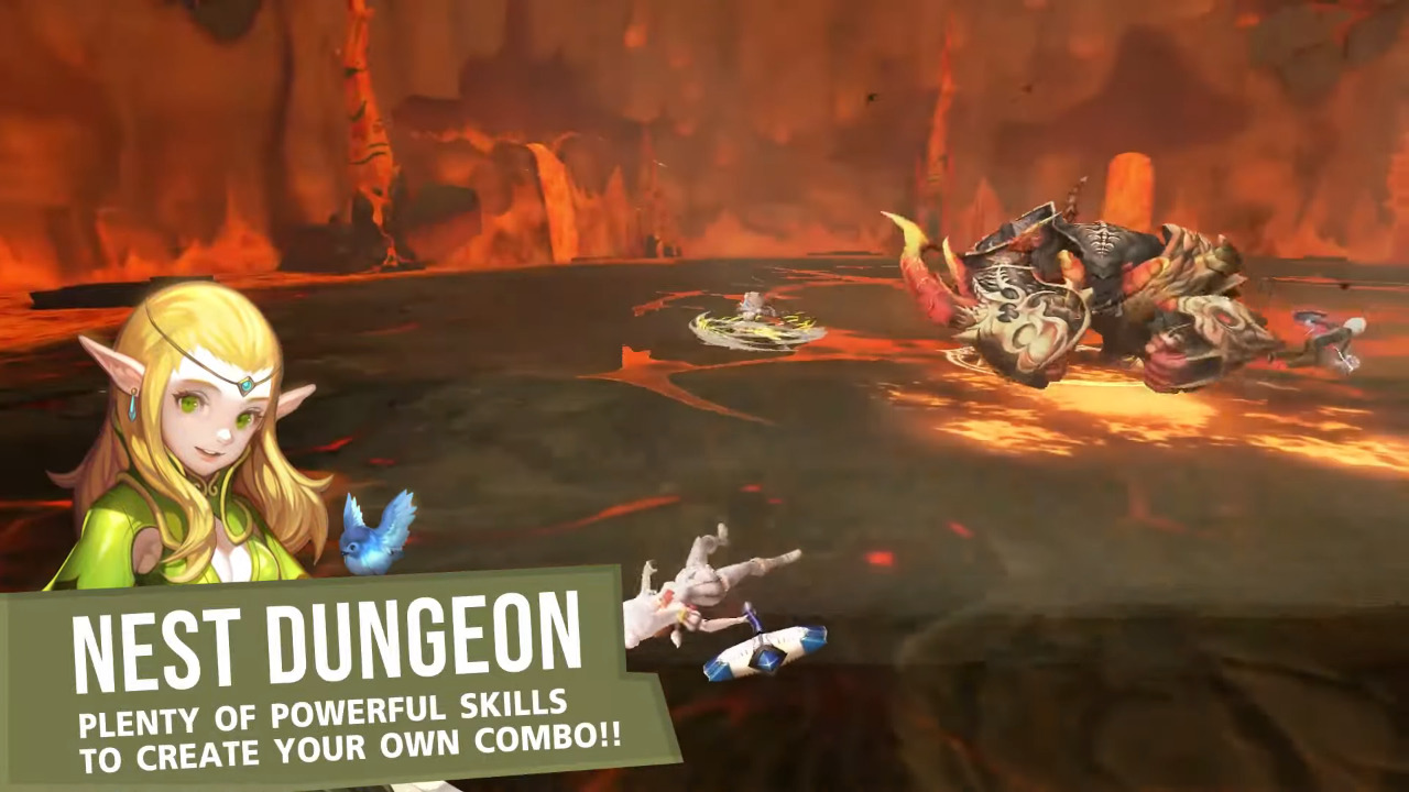 Mobile : Register now for the World of Dragon Nest CBT today