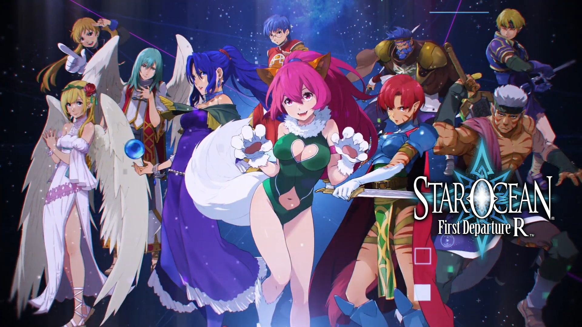 Star Ocean First Departure R Now Available On Switch And Ps4 Bunnygaming Com