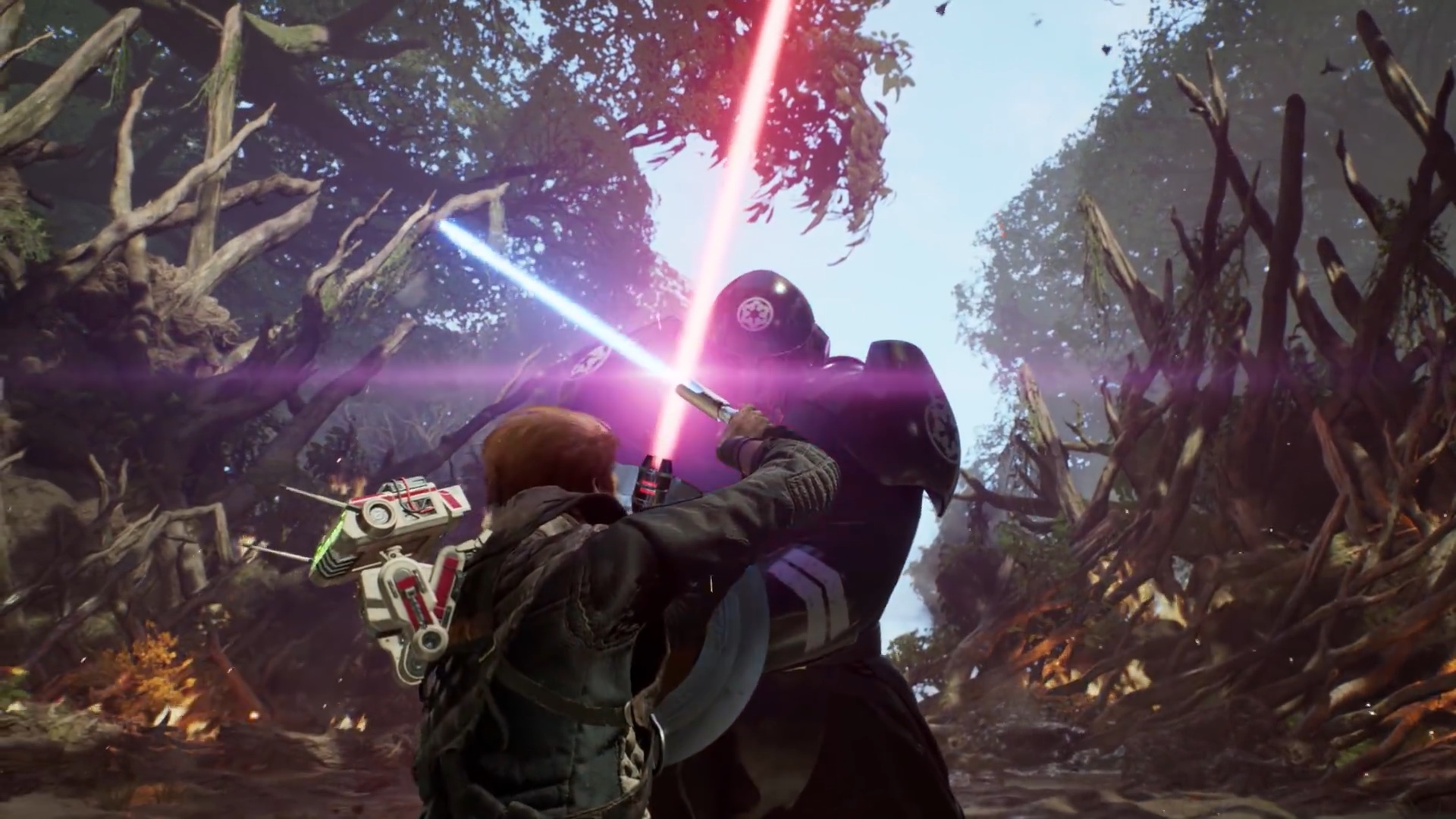 Star Wars Jedi Fallen Order Releases Action Packed Launch Trailer
