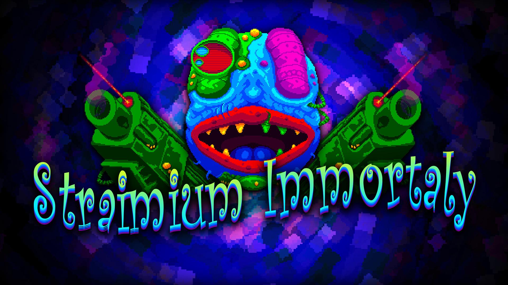 Pixel Art Shoot Em Up Straimium Immortaly Blasting Onto
