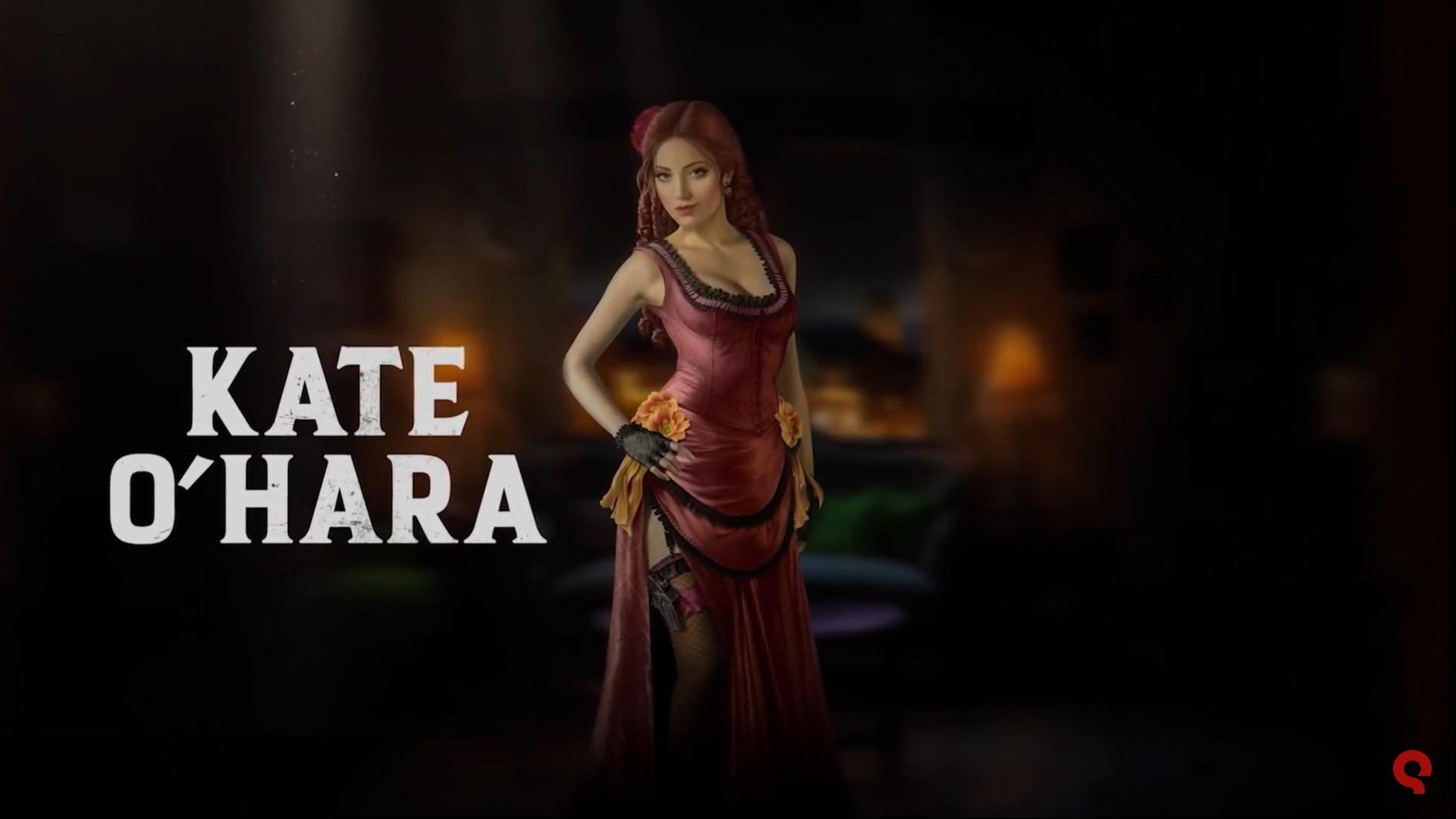 Meet Kate O Hara In New Desperados Iii Trailer Bunnygaming Com