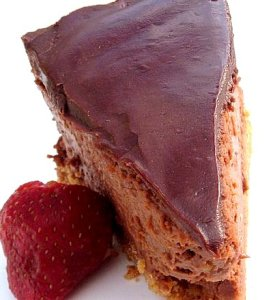 Double Chocolate Cheese Cake and a Give Away Winner!