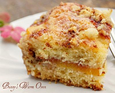 Ina Garten's Fresh Peach Cake - Bunny's Warm Oven