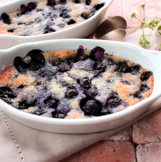 Blueberry Cake for Two