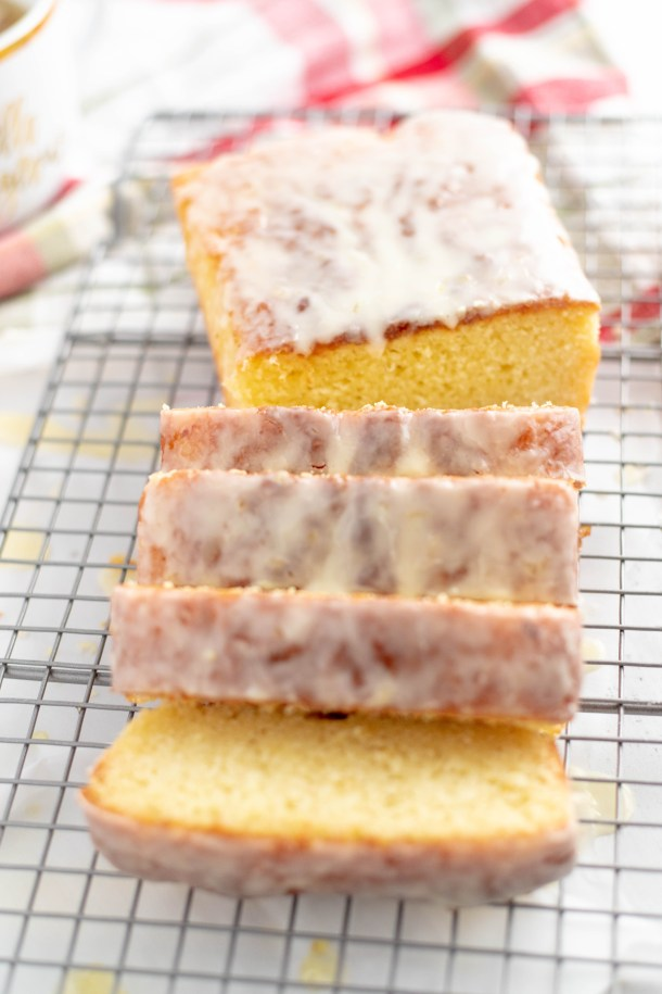 Orange Buttermilk Pound Cake