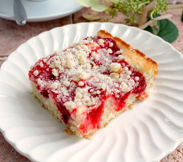 Coffee Cake Using Cherry Pie Filling
