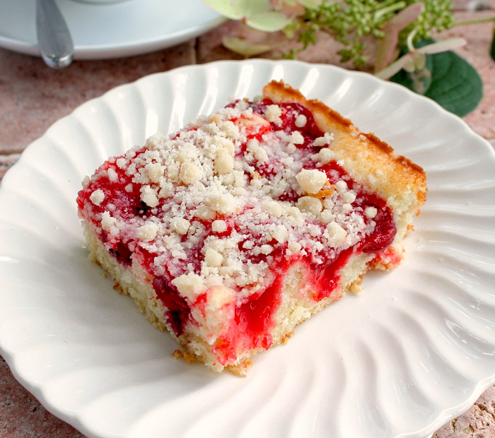 Coffee Cake Made With Cherry Pie Filling