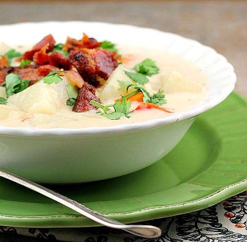 Crock Pot Creamy Potato Soup