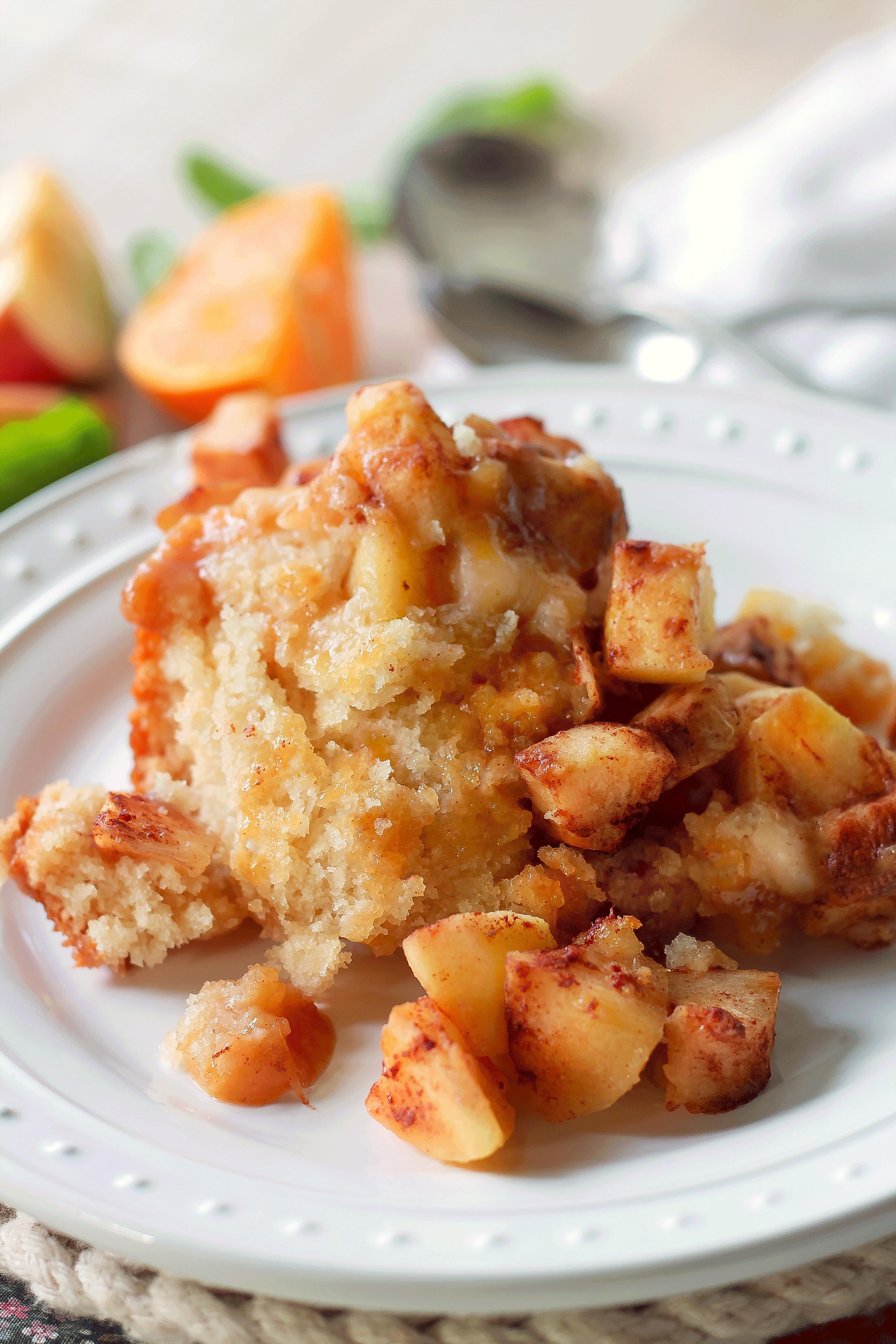 Crock Pot Apple Pudding Cake Bunny S Warm Oven
