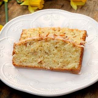 Buttermilk Coconut Pound Cake