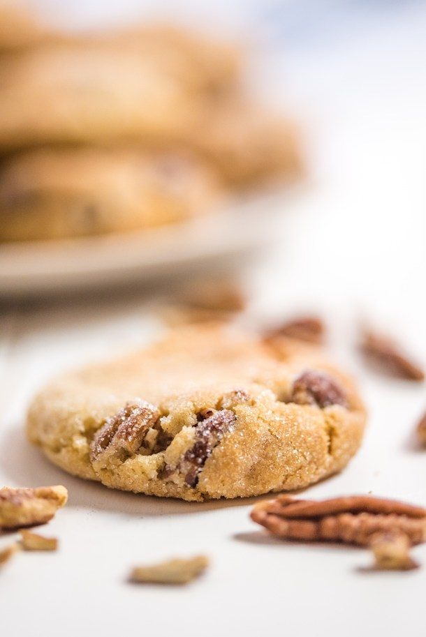 Sweet and Sour Butter Pecan Cookies
