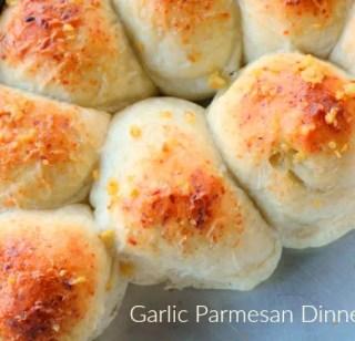 Garlic Parmesan Dinner Rolls