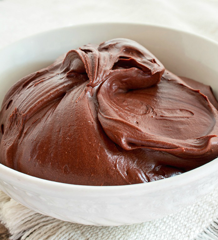 Image result for chocolate frosting