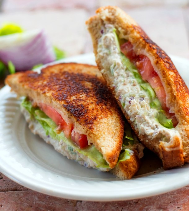 Chicken Salad Melt Sandwich