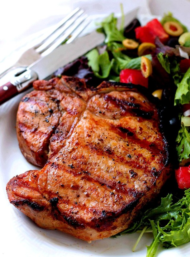 Grilled Pork Chop Marinate