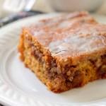 Pumpkin Honey Bun Cake