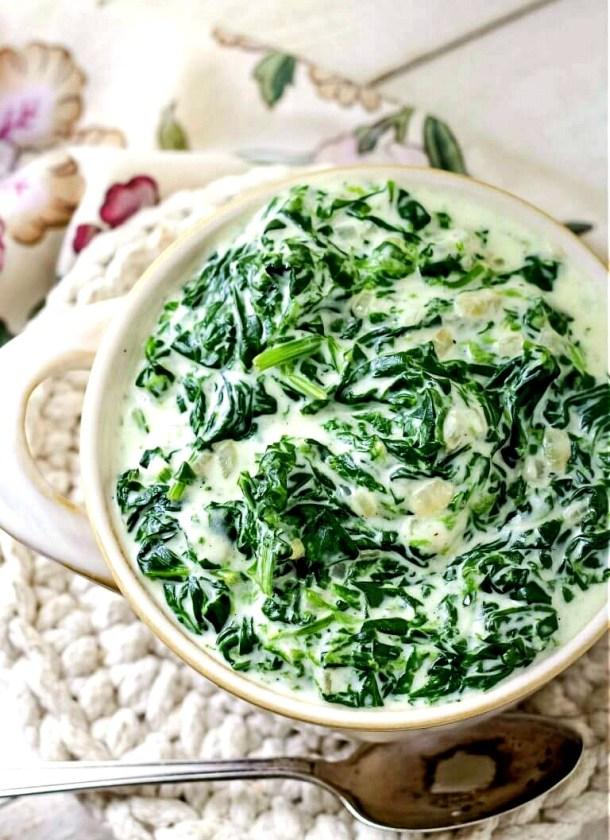 Fresh Creamed Spinach