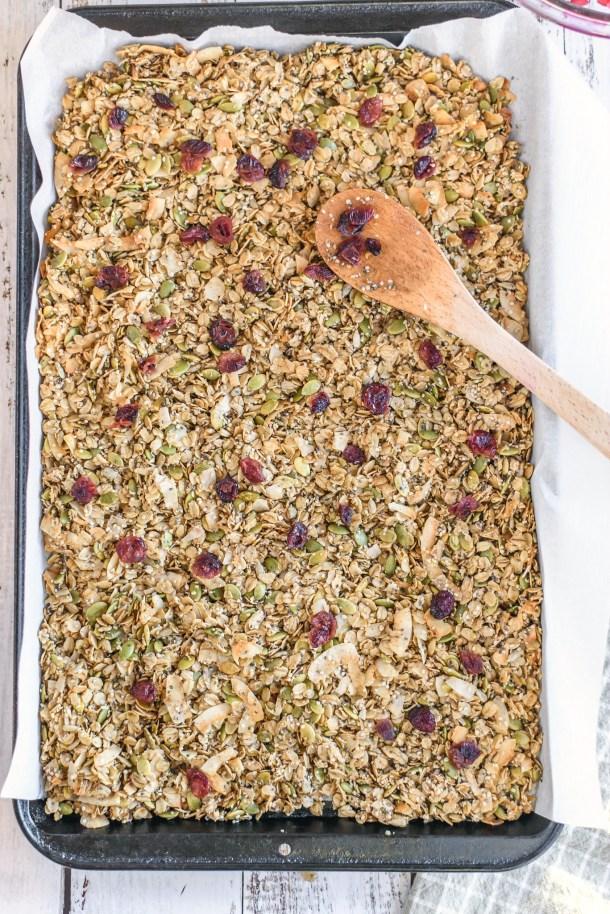 Homemade Nut Free Granola Recipes