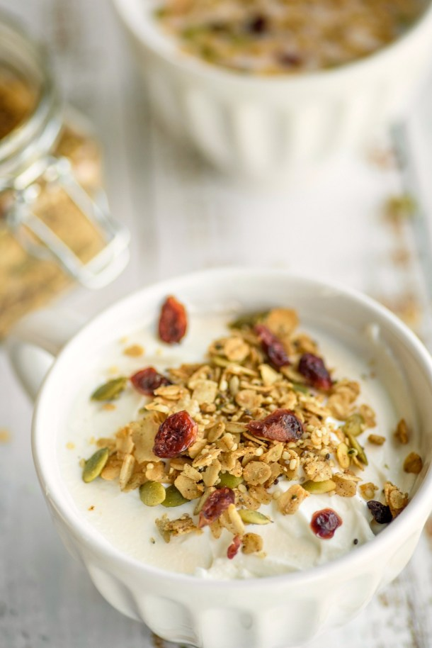 Homemade Nut Free Granola