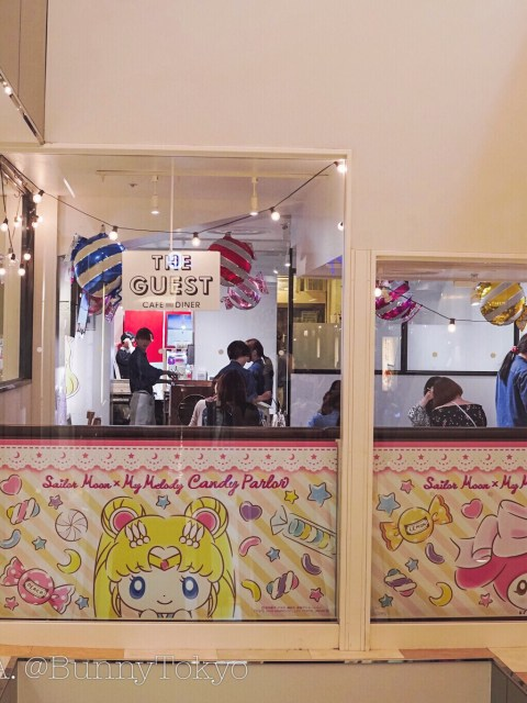 My Melody x Sailor Moon Cafe