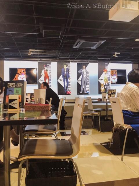 Cowboy Bebop Cafe in Akihabara