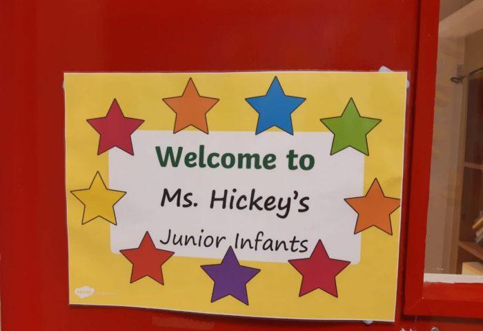 Starting school in Ms. Hickey's Class