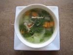 くず野菜のスープ