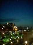 ガーデンプレイスの黄昏