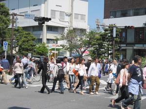 鎌倉駅入り口