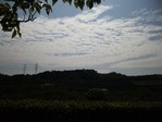 鎌倉霊園から見た空