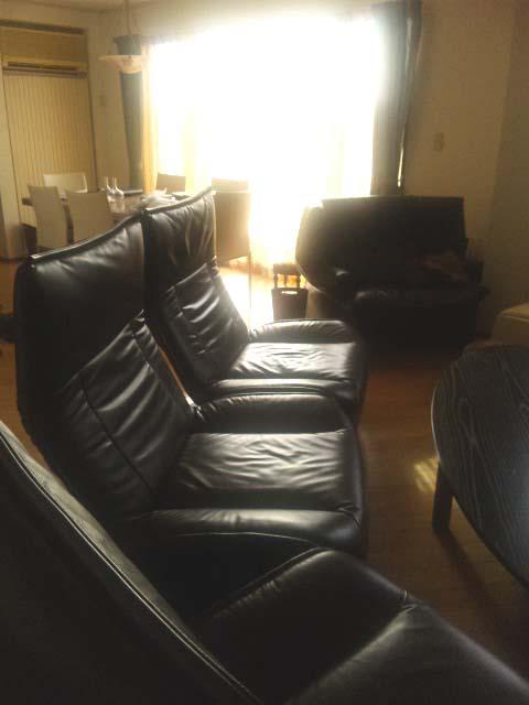 カッシーナのソファー