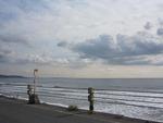 鎌倉高校前の海