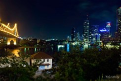 Story Bridge, Brisbane Skyline and River; Fortitude Valley; Brisbane