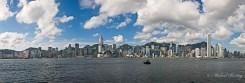 Avenue of the Stars, Hong Skyline/Cityscape, Tsim Sha Tsui waterfront, Victoria Harbour, Yau Tsim Mong District, Kowloon, Hong Kong