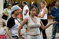 Salsa Dancers, 3rd (Third) Street Promenade, Santa Monica, Los Angeles, California