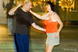 Third Street Swingers, Third 3rd Street Promenade, Santa Monica, Los Angeles, California